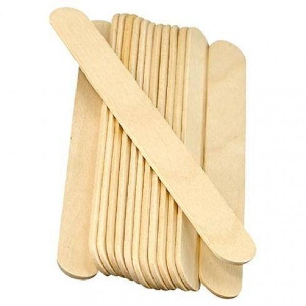 Spatula din lemn (100 buc)
