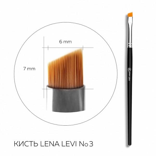 Pensula pentru sprâncene Lena Levi nr.3