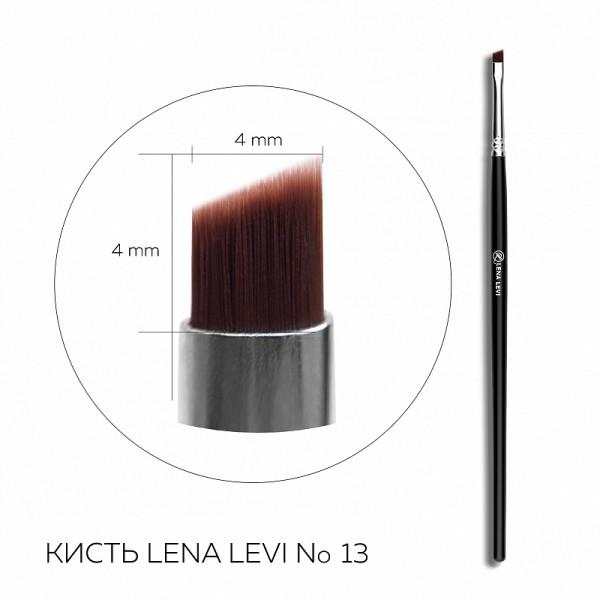 Pensula pentru sprincene ulta-precisa Lena Levi No.13