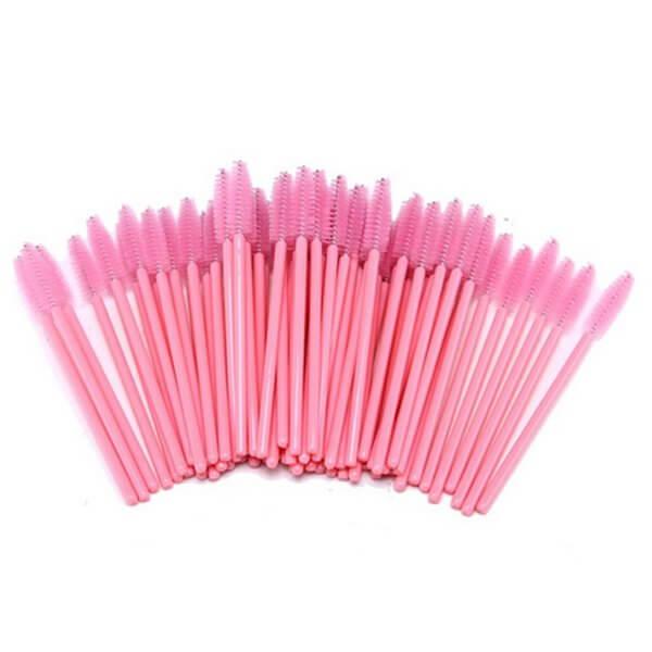 Set pieptene din nailon Roz (50 buc)