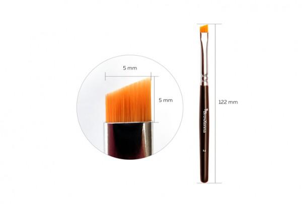 Pensula pentru sprincene BrowXenna N2