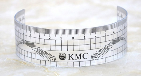 Rigla pentru sprincene KMC
