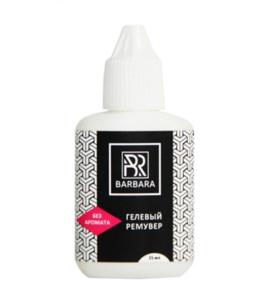 Remover gel Barbara fara aroma