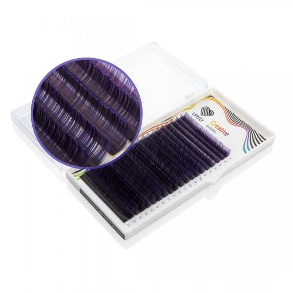 Gene Lovely 2-tones dark-purple Mix